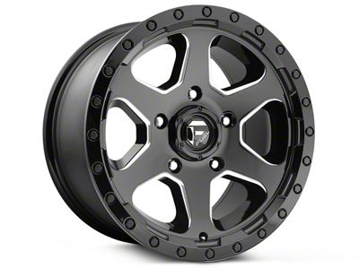 Fuel Wheels Ripper Gloss Black Milled 6-Lug Wheel - 20x9 (99-18 Silverado 1500)