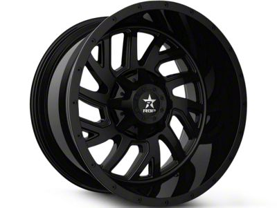 RBP 65R Glock Full Black 6-Lug Wheel - 22x14 (99-18 Silverado 1500)