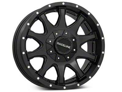 Raceline Shift Black 6-Lug Wheel - 18x9 (99-18 Silverado 1500)