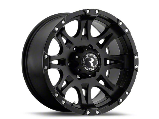 Raceline Raptor Black 6-Lug Wheel - 20x9 (99-18 Silverado 1500)