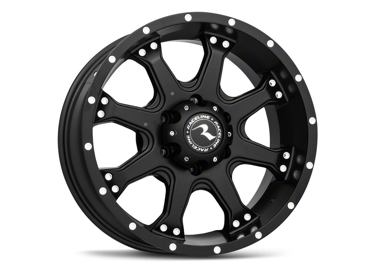 Raceline Injector Black 6-Lug Wheel - 20x9 (99-18 Silverado 1500)