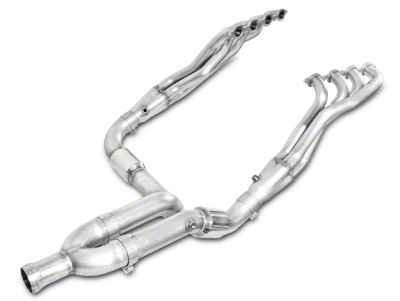 Stainless Works 1-7/8 in. Headers w/ Catted Y-Pipe - Factory Connect (07-13 5.3L Silverado 1500)