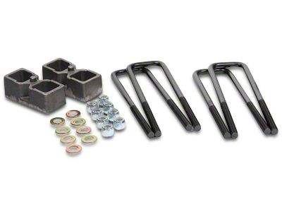 Daystar 2 in. Rear Lift Blocks (07-13 2WD/4WD Silverado 1500)