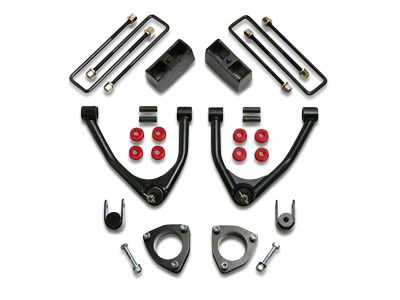 ReadyLIFT 4 in. Front / 1.75 in. Rear SST Lift Kit (07-18 2WD Silverado 1500 w/ Stock Cast Steel Control Arms)