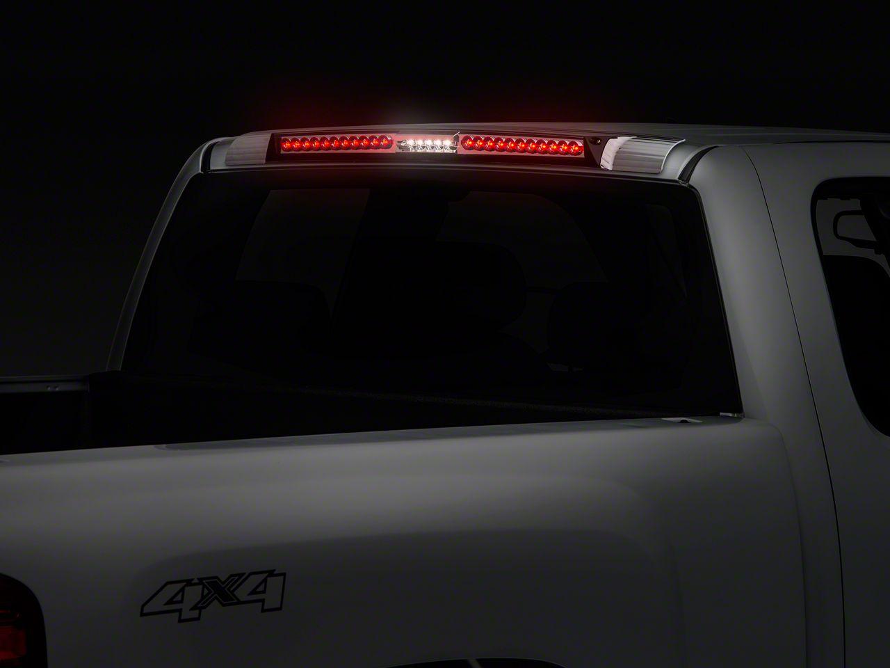 Alteon MEGA Crystal Clear LED Third Brake Light w/ Red Trim (07-13 Silverado 1500)