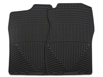 Weathertech All Weather Front Floor Mats - Black (07-13 Silverado 1500)