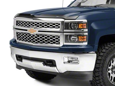Weathertech Low Profile Hood Protector - Dark Smoke (14-15 Silverado 1500)