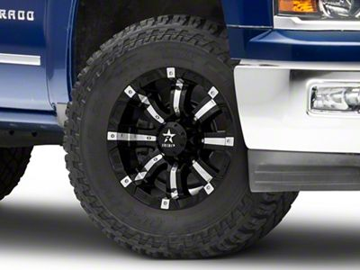 RBP 94R Black w/ Chrome Inserts 6-Lug Wheel - 18x10 (99-18 Silverado 1500)