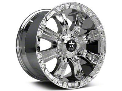 RBP 94R Chrome w/ Black Inserts 6-Lug Wheel - 18x10 (99-19 Silverado 1500)