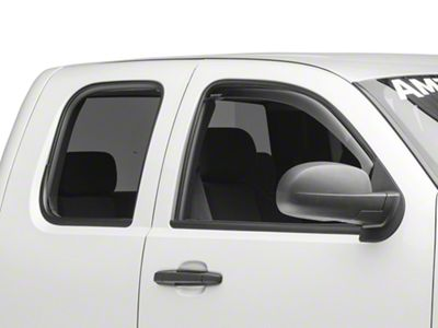 Weathertech Front Side Window Deflectors - Dark Smoke (07-13 Silverado 1500)