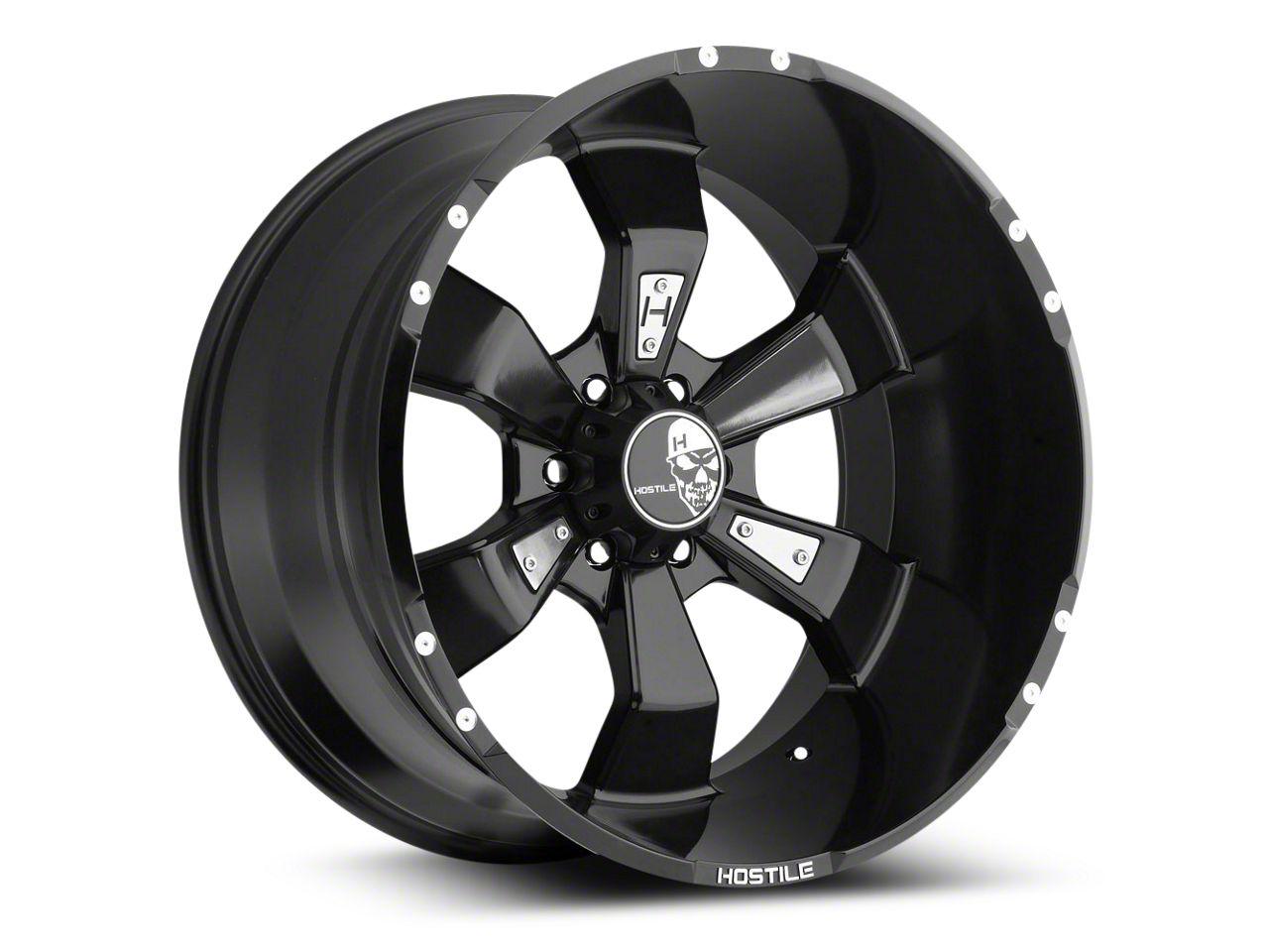 Hostile Hammered Blade Cut 6-Lug Wheel - 20x10 (07-18 Silverado 1500)
