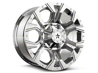 RBP 64R Widow Chrome 6-Lug Wheel - 20x10 (99-18 Silverado 1500)