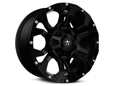 RBP 64R Widow Full Black 6-Lug Wheel - 18x9 (99-18 Silverado 1500)