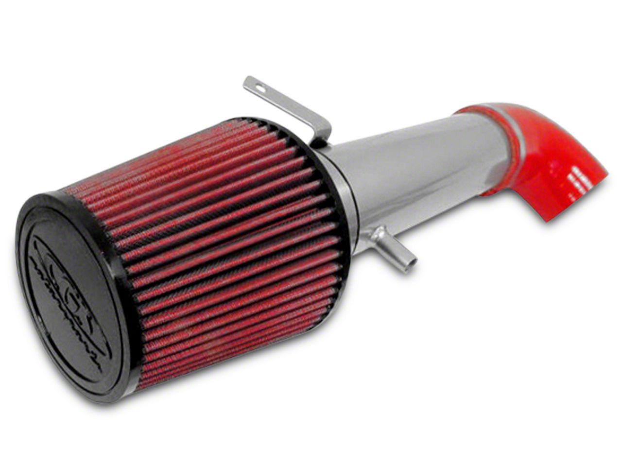 CGS Motorsports Cold Air Intake - Ceramic Silver (2009 6.0L Silverado 1500, Excluding Hybrid)