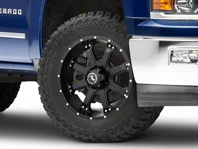 Raceline Assault Black 6-Lug Wheel - 20x9 (99-18 Silverado 1500)