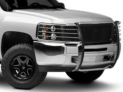Barricade Brush Guard - Polished Stainless (07-13 Silverado 1500)