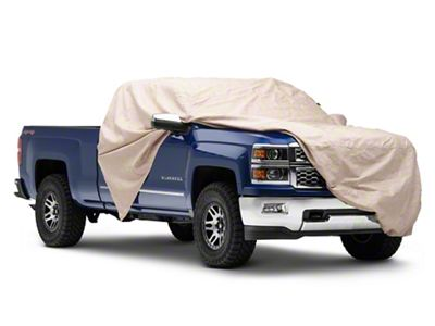 Covercraft Custom Cab Area Forward Cover - Taupe (07-18 Silverado 1500)
