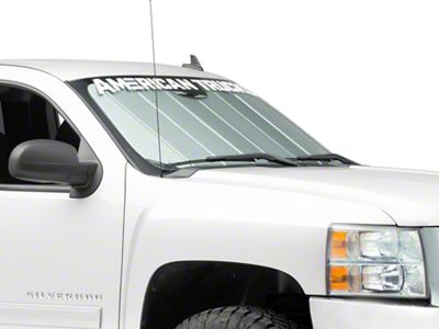 Covercraft UVS100 Custom Sunscreen - Silver (07-13 Silverado 1500)
