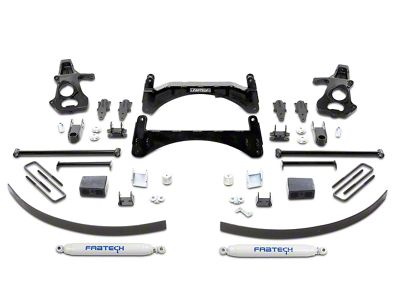Fabtech 6 in. Basic Lift System w/ Shocks (07-13 2WD/4WD Silverado 1500)