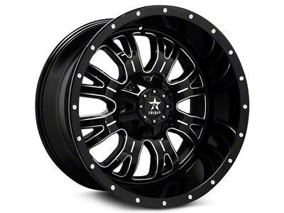 RBP 89R Assassin Gloss Black Machined 6-Lug Wheel - 20x9 (99-18 Silverado 1500)