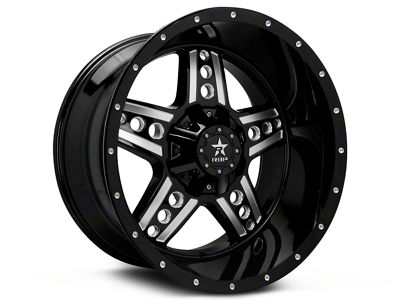 RBP 90R Colt Gloss Black Machined 6-Lug Wheel - 20x9 (99-19 Silverado 1500)