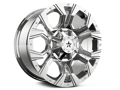 RBP 64R Widow Chrome 6-Lug Wheel - 18x9 (99-18 Silverado 1500)