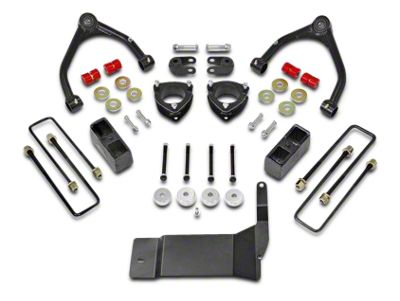 ReadyLIFT 4 in. Front / 1.75 in. Rear SST Lift Kit (14-18 4WD Silverado 1500)
