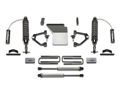 Fabtech 4 in. Budget Lift System w/ Dirt Logic Coilovers & Shocks (14-18 2WD/4WD Silverado 1500 Double Cab, Crew Cab)