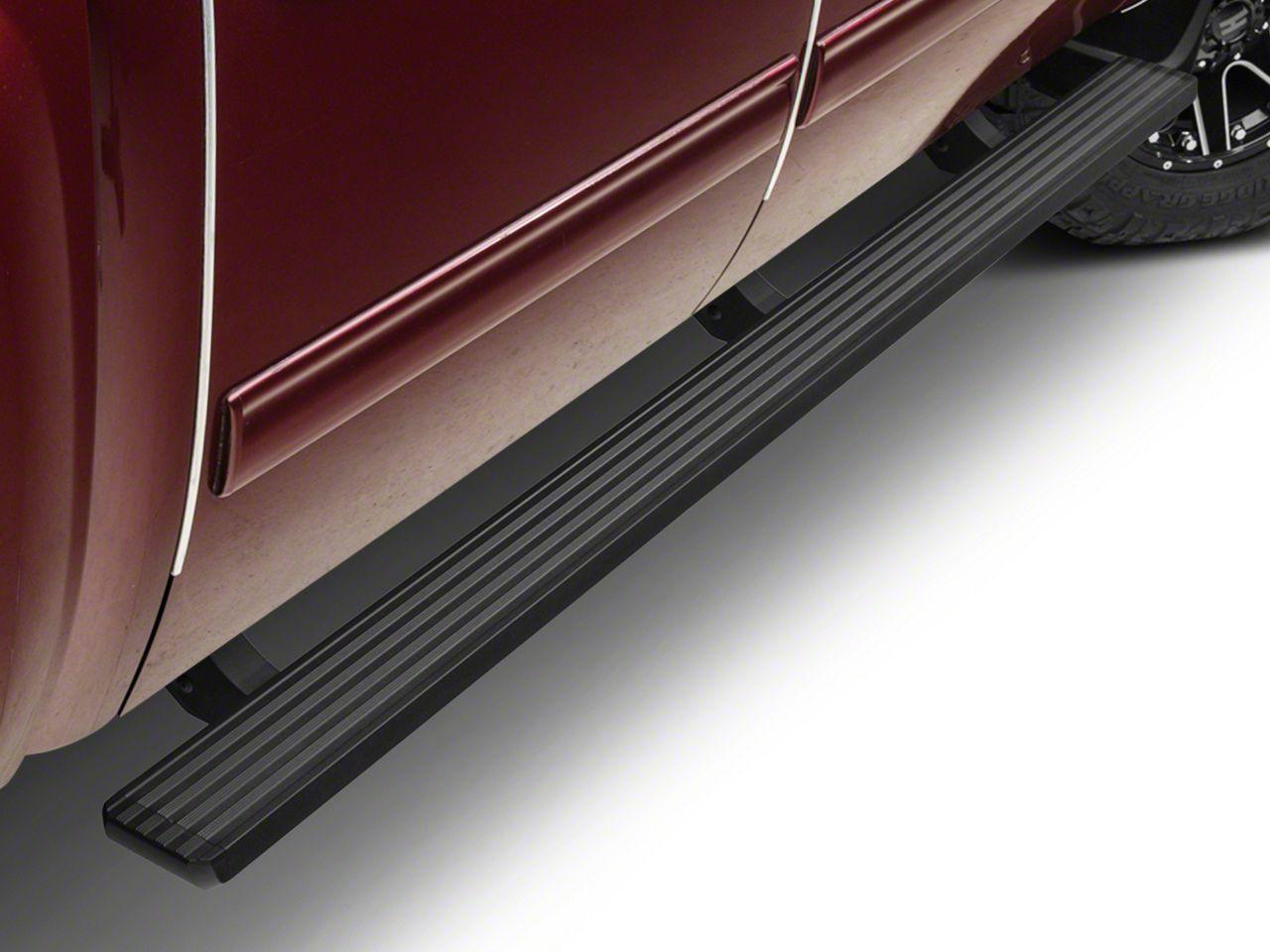 Barricade Aluminum Running Boards - Black (07-13 Silverado 1500 Extended Cab, Crew Cab)