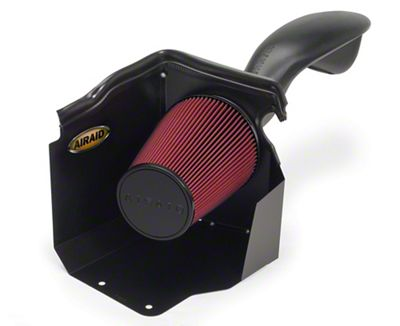 Airaid Cold Air Dam Intake w/ Red SynthaMax Dry Filter (99-06 4.8L, 5.3L Silverado 1500 w/ Low Profile Hood)