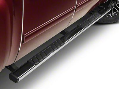 Barricade T4 Body Mount Side Step Bars - Polished Stainless (07-13 Silverado 1500 Extended Cab, Crew Cab)