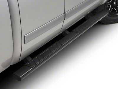 Barricade T4 Rocker Mount Side Step Bars - Black (07-13 Silverado 1500 Extended Cab, Crew Cab)