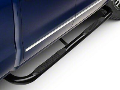 Barricade 3 in. Body Mount Side Step Bars - Black (14-18 Silverado 1500)