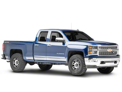 Putco Black Platinum Rocker Panels (14-18 Silverado 1500)