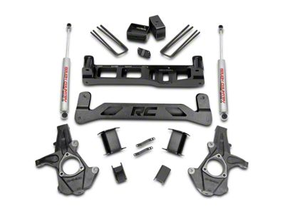 Rough Country 5 in. Suspension Lift Kit w/ Shocks (07-13 2WD Silverado 1500)