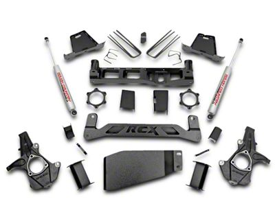 Rough Country 6 in. Suspension Lift Kit w/ Shocks (07-13 4WD Silverado 1500)