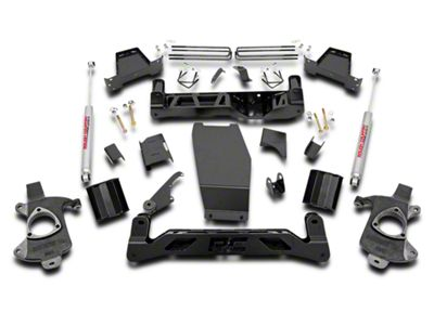 Rough Country 6 in. Suspension Lift Kit w/ Shocks (14-18 4WD Silverado 1500)