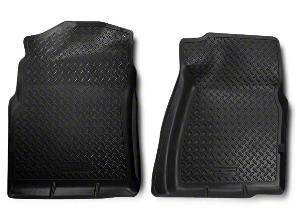 Husky Classic Front Floor Liners - Black (07-13 Silverado 1500)