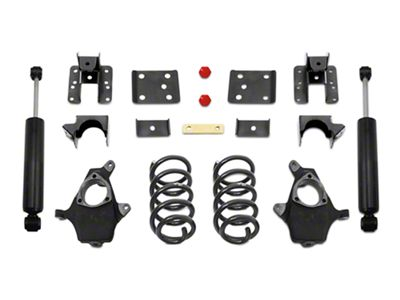 Max Trac Lowering Kit - 4 in. Front / 6 in. Rear (07-13 2WD/4WD Silverado 1500)