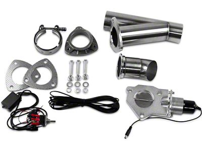 GMS Electronic Exhaust Cutout System - 2.5 in. (99-19 Silverado 1500)