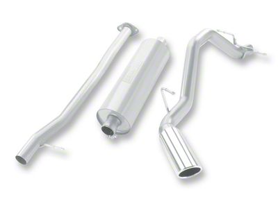 Borla Touring Single Exhaust System - Side Exit (07-09 6.0L Silverado 1500, Excluding Hybrid)