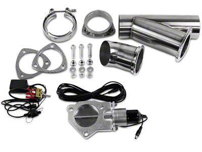 GMS Electronic Exhaust Cutout System - 3 in. (99-18 Silverado 1500)