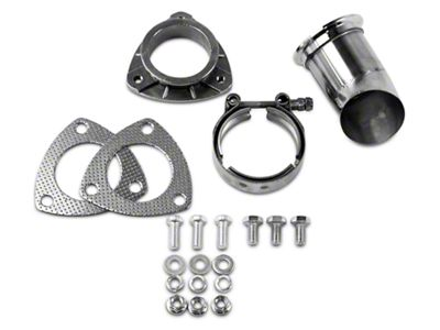 GMS Exhaust Cutout Adjustable Turn Down - 2.5 in. (99-19 Silverado 1500)