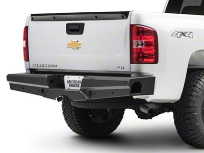 Steel Craft HD Elevation Rear Replacement Bumper (07-13 Silverado 1500)
