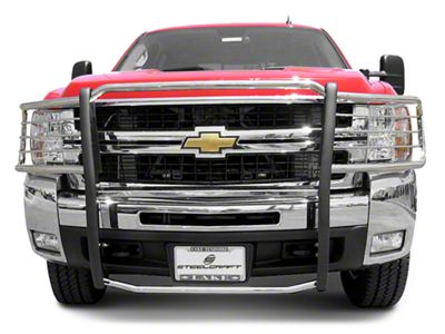 Steel Craft HD Grille Guard - Black (07-13 Silverado 1500)