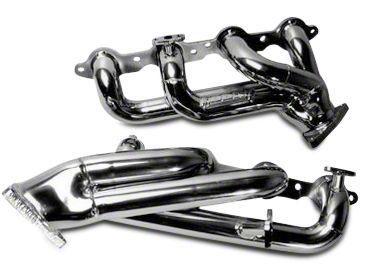 BBK 1-3/4 in. Chrome Tuned Length Shorty Headers (07-09 6.0L Silverado 1500)