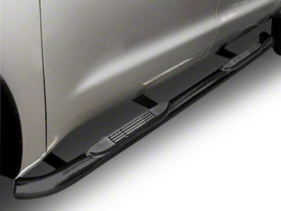 Steel Craft 3 in. Blackout Series Body Mount Side Step Bars (14-18 Silverado 1500 Double Cab)