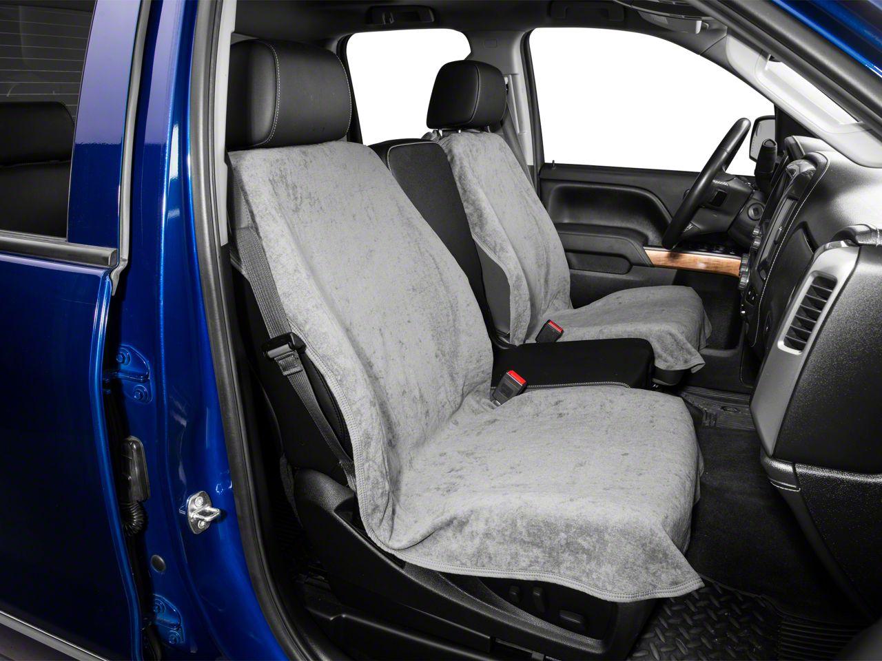 Seat Armour Seat Protector - Gray (07-18 Silverado 1500)