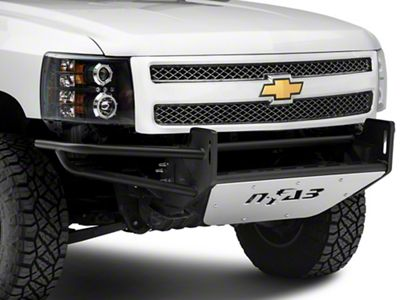 N-Fab R.S.P. Pre-Runner Front Bumper for Dual 38 in. Rigid LED Lights - Textured Black (07-13 Silverado 1500)