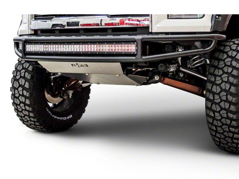 N-Fab M-RDS Radius Pre-Runner Front Bumper w/ Multi-Mount for LED Lights - Textured Black (14-15 Silverado 1500)